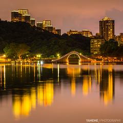 Dahu Park / Taipei, Taiwan (yameme) Tags: longexposure night canon eos nightshot taiwan taipei        dahupark 5d3 5dmarkiii  70300mmlis