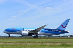 Arke Boeing 787-8 Dreamliner, AMS (Silent.91) Tags: amsterdam plane airplane nikon exterior aircraft aviation off take boeing takeoff schiphol ams spotting avia  eham b787  dreamliner arke  b788 d5200 phtfl