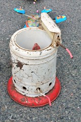 Lave-linge jouet (Cletus Awreetus) Tags: vintage jouet métal lavelinge tôleémaillée