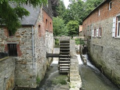 Water mill in Braine-le-Chateau (Joop van Meer) Tags: watermill 2015 brainelechateau gr12