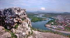 Rozafa Castle -  Shkoder 0975 (Chris Belsten) Tags: castle albania archeaology shkoder rozafa illyrian