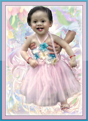 Almost the Birthday Girl (Chris C. Crowley) Tags: baby girl child philippines littlegirl tutu mckayla nearlyoneyearold editbychriscrowley almostthebirthdaygirl