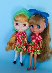 Strawberry girls.