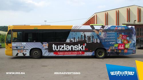 Info Media Group - Tuzlanski.ba, BUS Outdoor Advertising, Tuzla 05-2015 (1)