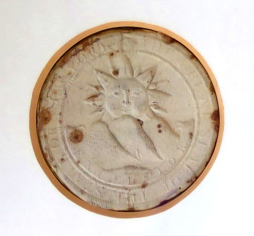 Great Seal of New York 1797 - Excelsior