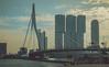 Erasmusbrug, Rotterdam (pattuz) Tags: sony a33 rotterdam netherlands nederland south holland erasmusbrug bridge water maass