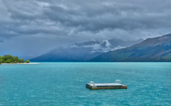 The Swimming Platform (Stuck in Customs) Tags: newzealand queenstown hasselblad new zealand southisland glenorchy islands road horizontal colour color hdr hdrtutorial hdrphotography hdrphoto outdoor outdoors outside rr dailyphoto day daytime lake water mountain travel dart dartriver delta greenstone glacier earnslawburn helicopter snow sharp crisp blue white purple brown green yellow black sun clouds lakewakatipu h5d 2016 p2017 landscape cloud november sky