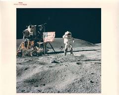 a16_v_c_o_AKP (AS16-113-18339) (apollo_4ever) Tags: johnwyoung humanspaceflight nasaspacecraft nasa rocketman moonship oldgloryonthemoon apollomissions apolloxvi manonthemoon menonthemoon maninspace mannedspaceflight extravehicularmobilityunit apollospacesuit moonmissions farultravioletcameraspectrograph smallcrater apollolunarmodule lunarrovervehicle apollospaceprogram highgainantenna apollomoonbuggy glossyphoto lunarsalute lcru boeinglunarrover moonrover moonbuggy űrhajós moonwalk extravehicularactivity lrv lm lunarrovingvehicle charlieduke descarteshighlands jumpsalute lunarmodule apollo16 johnyoung spacehistory