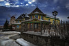 Tea House (Storm Rider Photography) Tags: tea house reddeer alberta canada architecture bluesky janusz sobolewski stormriderphotography canoneos1dxm3 efl2470m2