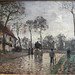PISSARRO Camille,1870 - Diligence à Louveciennes (Orsay) - 0