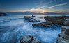 Sunset at Delta (Mika Laitinen) Tags: canon5dmarkiv delta europe horizon leefilters mallorca spain beach cliff cloud color landscape longexposure nature ocean outdoor rock sea seascape shore sky sunset water wave winter migjorn illesbalears es