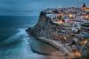 Azenhas (Alexandre de Sousa Photography) Tags: 2016 azenhasdomar portugal sunset water architecture longexposure long exposure ocean sea