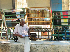 Havana Outdoor Book Market (shaire productions) Tags: havana street outdoors market bookstore books bookshelves image park imagery library cuba education learning literary cuban travel photo photograph photography