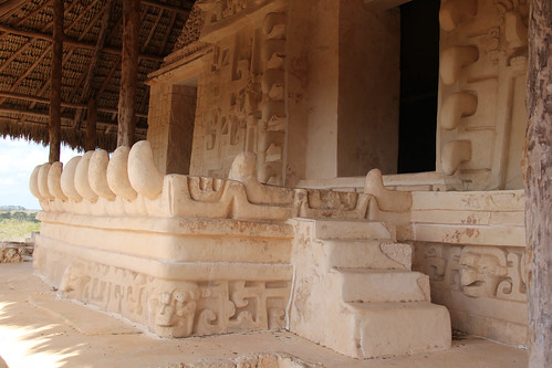 Templo Dragón, Fachada, Estructura 1