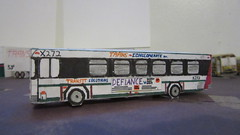 X272 - Trans Conglomerate Bus X272 (Etienne Luu) Tags: gillig low floor advantage 35 footer paper cardstock model bus