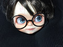 Blythe custom #121 Harry Potter commission