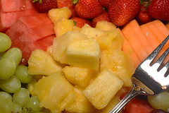 Fruit (Pat Durkin OC) Tags: strawberries watermelon pineapple grapes