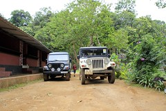 The off roaders at Dare Nature Wayanad