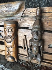 Polinesio Restaurant Bar (jericl cat) Tags: lighting sign rock bar vintage lava restaurant hotel design exterior interior restaurante havana cuba hilton pop tropical former habana tiki tradervics libre timewarp polynesian 2015 polinesio entrancew