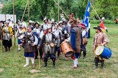 1645: Swedes in Moravia (The Adventurous Eye) Tags: 30 war action na historical years recreation swedes reenactment moravia 2015 akce 1645 morav vlka historick ticetilet vdi veversk btka