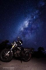 Nave espacial (santifox14) Tags: longexposure landscape star colombia akt paisaje estrellas moto milky estrella larga milkyway exposicin largaexposicion panoraica astrofotgrafa
