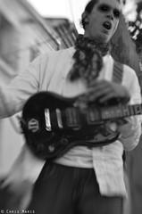 Rock Hallelujah. (Chris Maris) Tags: portrait music white man black rock blackwhite noir guitar player creepy satan demon et blanc guitarist musique guitare guitariste