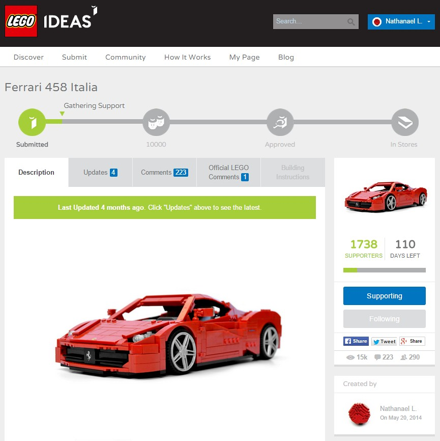 The World's newest photos of 458 and lego - Flickr Hive Mind