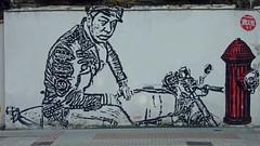 Nº 230 (Stencil en La Coruña) Tags: street urban muro sc painting graffiti stencil coruña paint arte grafiti nine spray urbanart galicia galiza slc geotag urbain pochoir streeart sprayart schablonen pochoirs plantilla matrice sprayed schablone estencil arteurbano posca patro estarcido trepa stncl sjablonen nin9 geotagge geotaggedspain kaavio malline graffiticonplantilla mascarina sapluuna stencilcoruña coruñastencil stencilgalicia stencilespaña stencilspain stencilgaliza escantilhoes geoetiquetadas setensilan šablony stensiili kaavaimella luotta sablonivanhahtava kaavain kaavaimellapiirrettya stencilbrush estencios paintbrushstencil