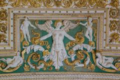 2015/07/17 13h47 plafond du Musée du Vatican (Valéry Hugotte) Tags: vatican rome roma musée italie plafond basrelief cittàdelvaticano muséeduvatican
