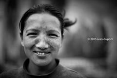 A smiling mother, Ang, Ladakh, India (monsieur I) Tags: world travel portrait people blackandwhite woman india smile smiling canon eos ladakh canonef50mmf14usm canoneos5dmark3 monsieuri ivandupont