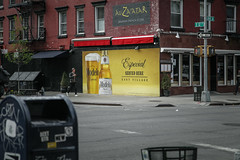 (onesevenone) Tags: city nyc newyorkcity urban eastvillage ny newyork wall america corner painting unitedstates modelo gothamist eastcoast stefangeorgi onesevenone auzaatar