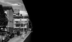 Shadow (Timothy Slessor) Tags: city uk england urban london europe fuji decay bleak fujifilm docklands derelict eastlondon silvertown derelictlondon xe1 derelictlondontours