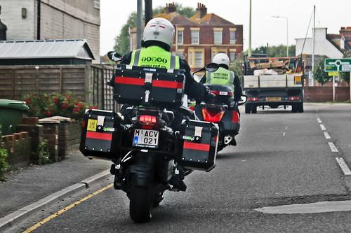 BMW GS Motorcycle - M-ACV-021 - Belgium