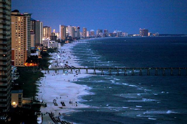Panama City Beach at Dusk