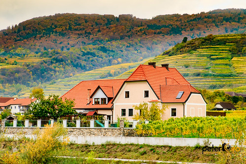 House in Wacahu Valley along the Danube River in Austria