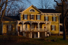 Metlar-Bodine House (Dendroica cerulea) Tags: metlarbodinehouse metlarhouse house building architecture historic usnationalregisterofhistoricplaces nationalregisterofhistoricplaces newjerseyregisterofhistoricplaces winter raritanestuarycbc piscataway middlesexcounty nj newjersey