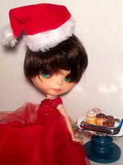 Flickr Advent Group & Blythe-a-Day December#15: Sharing&#18 Cookies