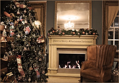 #Christmas (Vide Cor Meum Images) Tags: mac010665yahoocouk markandrewcoleman markcoleman videcormeumimages vide cor meum nikon d750 london victorian christmas tree fortnum mason piccadilly traditional tradition fire fortnumschristmas