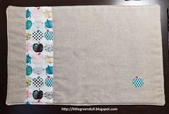 6707-Individuales-MugRug (Silvia LGD (Little Green Doll)) Tags: crafts patchwork fabrics telas dashwoodstudio handmade hechoamano individual mantelitoindividual placemat mugrug posavasos coaster individuales linen lino