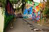 Down the graffiti hills (mcs.moisesfilho) Tags: brasil brazil vidigal grafitti grafite cores favela arte morro comunidade colors colorful house casa dois irmãos mototaxi avrão mirante vidiga nós do cultura black turista turístico tour guide guia