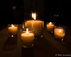 December Light (MTD Photos) Tags: candle candlelight flame glass light mattdomonkos mood stilllife warmth