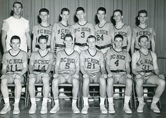 Coach Cotter - JV Basketball: 1962 (BC High Archives) Tags: cotter basketball 1960s teamphoto 1962 minichiello carolan donovan connolly manning earls casey cronin joy dever fortuna walsh