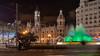Valencia, Spain: Plaça de l'Ajuntament fountain (nabobswims) Tags: españa fountain hdr highdynamicrange lightroom nabob nabobswims photomatix plaçadelajuntament sel18105g sonya6000 spain valencia valència es