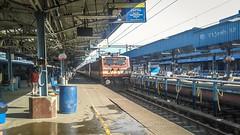 RPM WAP-4 #22838 with MAQ MAS SF enters Chennai...