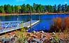 Rainbow Lake (Pugsley 66) Tags: lake water pier arizona nikond7000 wideangle serene abc adobeelements rainbowlake ducks nature landscape
