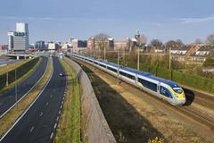 's-Hertogenbosch, 14 december 2016   Eurostar 4013/4014 (Jeroen de Vries.) Tags: siemens brabant eurostar velaro e320 london