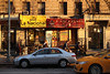 Chipped Cup Sunset (jschumacher) Tags: nyc hamiltonheights sunset chippedcup storefront