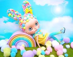 Pastel Bubble-Bunny