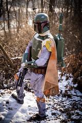 IMG_2031 (Johnny Applesauce) Tags: boba fett esb empire strikes back cosplay 501 501st snow costume kit mandalorian