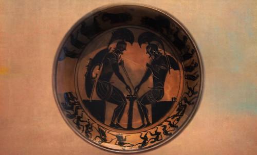 "Petteia - Ludus Latrunculorum  / Iconografía de las civilizaciones helenolatinas • <a style=""font-size:0.8em;"" href=""http://www.flickr.com/photos/30735181@N00/32481383316/"" target=""_blank"">View on Flickr</a>"